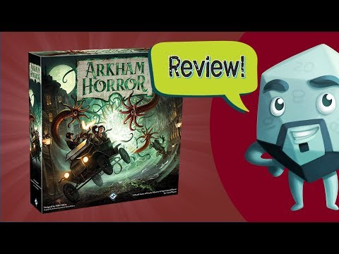 Arkham Horror (Third Edition) Review - with Zee Garcia
