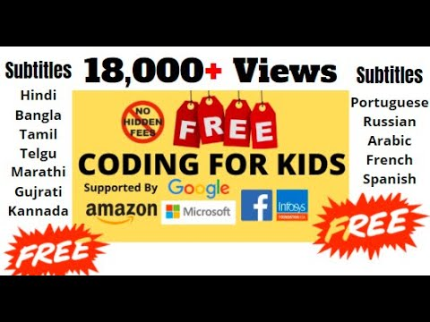 FREE! Coding For Kids|Programming For Kids|How To Learn Coding
