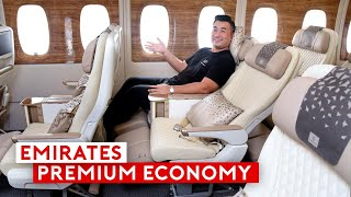 Emirates New Premium Economy and Upgraded Cabin on A380