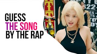 Guess The Song By The Rap Part   Kpop Game