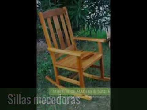 Sillas mecedoras - Muebles de madera y jardín .COM