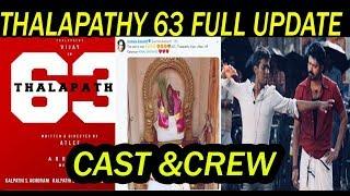 Thalapathy 63 cast and crew - Kênh video giải trí dành cho thiếu nhi
