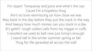 2Pac - Fuck All Y'all (Lyrics on Screen)