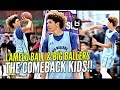 LaMelo Ball Does His Best Lonzo & LiAngelo Impression W/ That Melo Sauce On Top!
