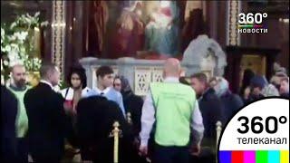 Верующие пришли поклониться мощам святителя Спиридона Тримифунтского в Москве