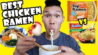 Ranking The BEST Chicken RAMEN Instant Noodles 🍜|| Life After College: Ep. 645