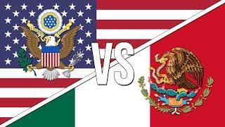 🇺🇸 U.S. National Anthem vs. 🇲🇽 Mexican National Anthem!