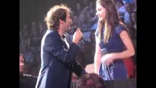 Best audience duet with Josh Groban (multi-angles) - To Where You Are (Maude Daigneault)