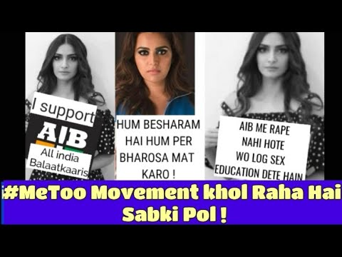 #MeToo Movement Ne Kar Diya Poore Bollywood Ko Nanga | Sonam Kapoor vs Kangna !