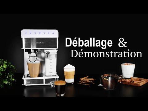 Cecotec Power Instant-ccino 20 Touch: Elle prépare elle même votre cappuccino.