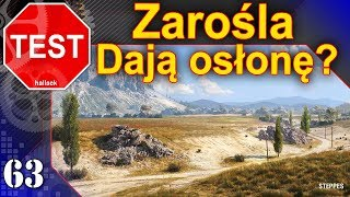 Zarośla w Wot 1.0 - jaką dają osłonę? TEST - World of Tanks