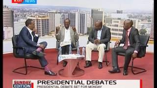 Mutinda Kavemba's  gives his take on Raila Odinga and Uhuru's turn up for the presidential debate