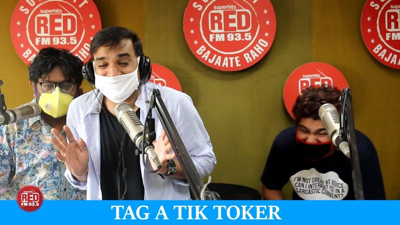 RJ Praveen roasting a TikToker