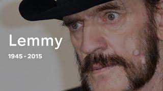 Lemmy Kilmister: Motorhead frontman dies at 70