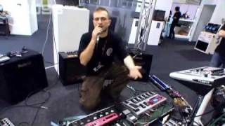 BOSS RC-50 Demo by DubFX at LIMS 2009