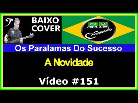 Os Paralamas do Sucesso - A Novidade (Baixo Cover) Vídeo #151