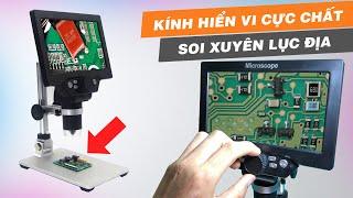 Kính hiển vi điện tử Mustool G1200 hàng nội địa Trung Quốc có gì hot ?