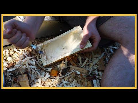 Schale schnitzen / herstellen - Outdoor Bushcraft Deutschland