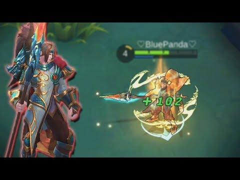 NEW Yun Zhao SKIN Rework Gameplay! Mobile Legends (offline mode?)