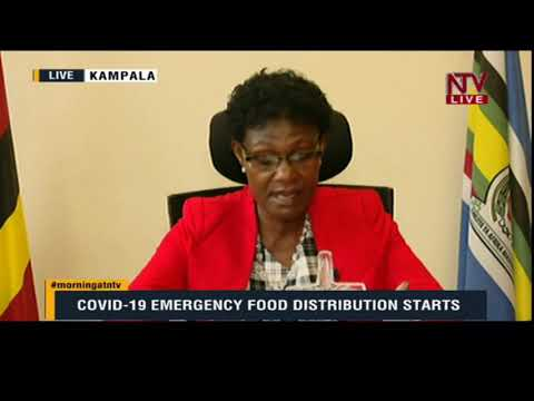 ON THE GROUND: Minister Namugwanya speaks on first days of food distribution
