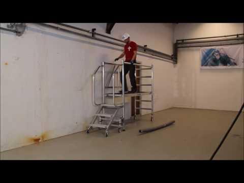 Zarges Montageplattform Workmaster T 2,70x0,75m klappbar-youtube_img