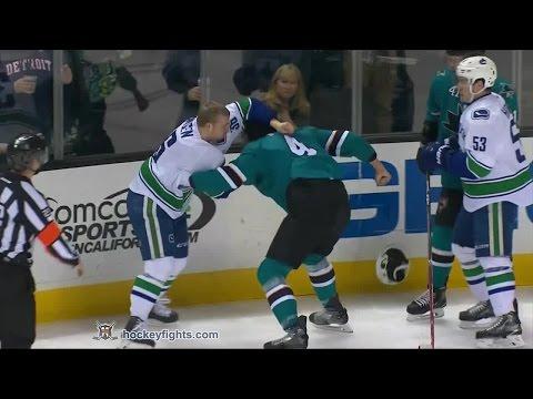 Brenden Dillon vs. Jannik Hansen