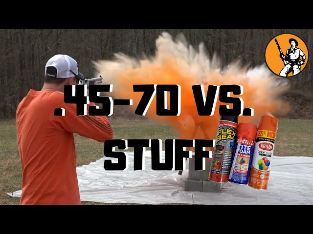 .45-70 Vs. Stuff - Episode 2 - We Made a Mess