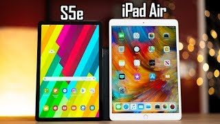Galaxy S5e vs iPad Air - Best Tablet in 2019!?