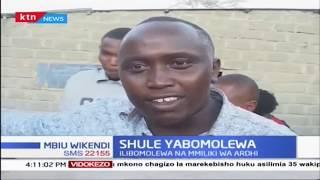 Shule moja yabomolewa Kitengela |KTN MBIU