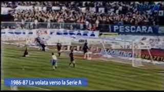 preview picture of video '1986 - 87 Il Pescara di Galeone vola in Serie A'