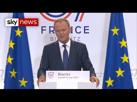 Tusk: Boris Johnson must not become 'Mr No Deal'