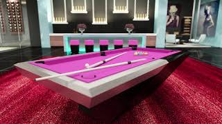 Cannabis Home Modern Pool Table