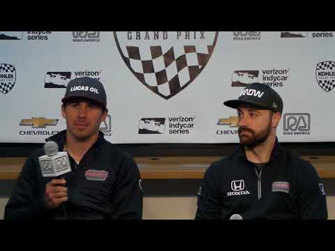 2018 IndyCar at Road America - Schmidt Peterson Press Conference