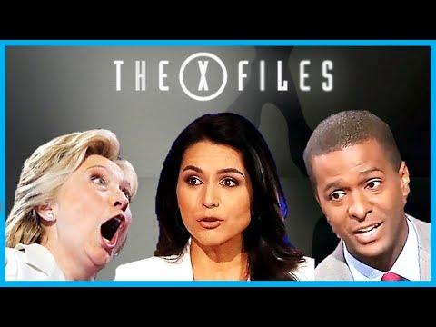 Bakari Sellers & Hillary Clinton call Tulsi Gabbard a Russian Puppet - CNN Panel Stunned! (X-Files)