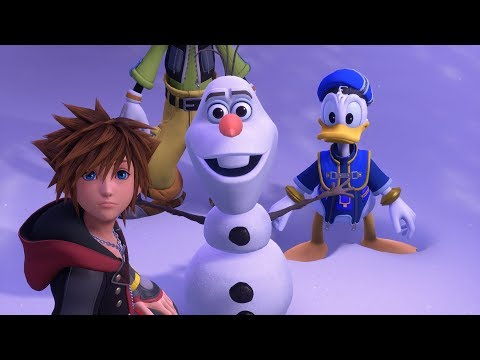 KINGDOM HEARTS III – E3 2018 Frozen Trailer thumbnail