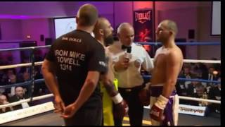 Video of deadly knockout boxer Mike Towell in combat with Evans