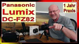 Panasonic Lumix DC-FZ82 DC-FZ83 ✔ 1 Jahr Praxis - 4K Foto 4K Video - 60fach Zoom [ Zubehör ] TopTipp