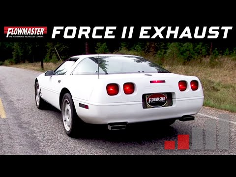 1992-96 Corvette C4 5.7L - Force II Cat-Back Exhaust System