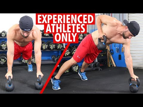 Renegade Rows with Kettlebells for Stronger Wrists & Arms