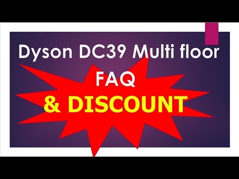 Dyson DC39 Multi Floor Canister Vacuum Cleaner | Dyson DC39 Vacuum Cleaner | Dyson DC39 Review & FAQ