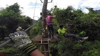 preview picture of video 'Krabi Tree Top Adventure Park - Black course'