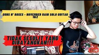 Guns N' Roses - November Rain (Solo Guitar 1 & 2)