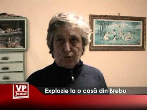 Explozie la o casă din Brebu