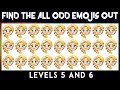 Frozen Elsa Find The Odd One Out | How Many Odd Emoji Can You Spot? Spot The Odd Emoji Out