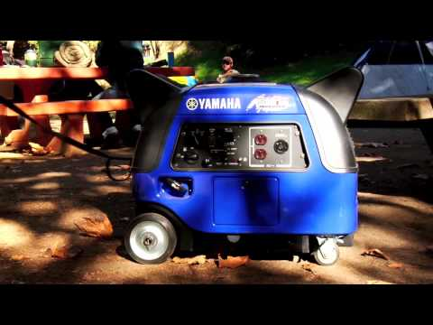 Yamaha EF1000iS Generator in Salinas, California - Video 1