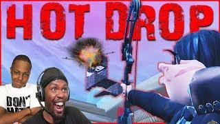 Season 9 Hot Drop Challenge! We Want ALL The Smoke! (Fortnite Season 9)