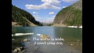 """The Water is Wide"" Orla Fallon LYRICS"