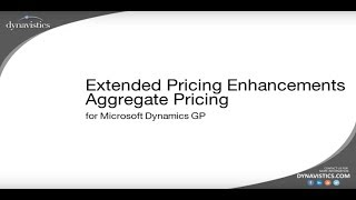 How to Manage Multi-Tiered Customer Pricing in Dynamics GP