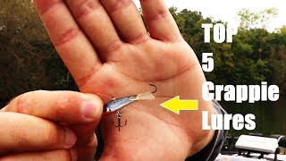 TOP 5 Baits for Fall Crappie (Best Crappie Lures) EP. 17 of 30 Day Challenge