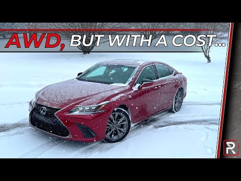 The 2021 Lexus ES 250 AWD F-Sport is an All-Weather Underpowered Luxury Sedan